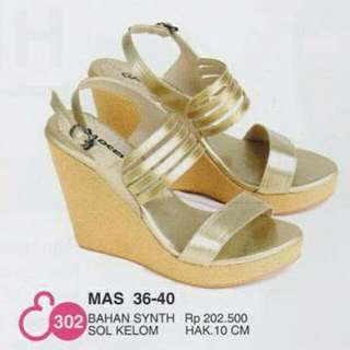 Synth Gold Wedges
