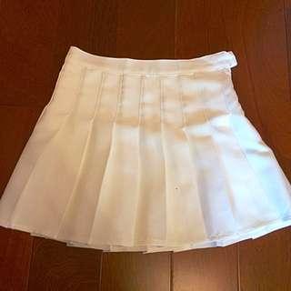 白色百褶裙*1