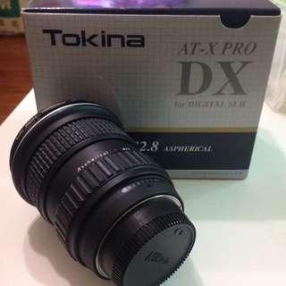 降價📢Tokina AT-X116DX For Nikon 保存良好