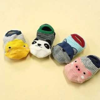 動物寶寶襪