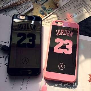[全新現貨-任2個450-711超取免運]新款 Jordan 喬丹 鏡面手機殼|iPhone