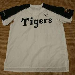 日職阪神虎球迷俱樂部短袖風衣