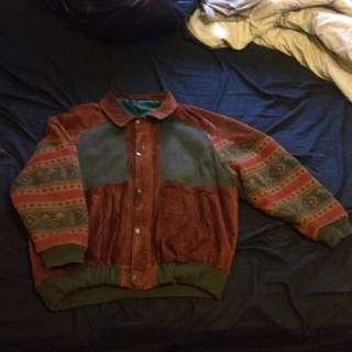 Vintage Real Leather Indie Jacket