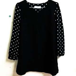 黑色連身裙 東京著衣購入 👗