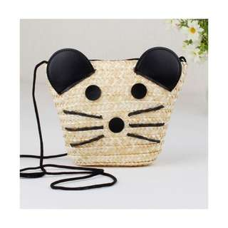 Mouse Straw Bag