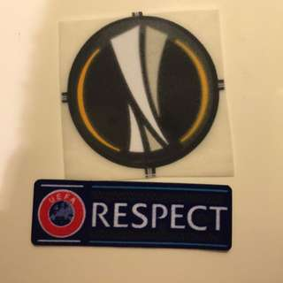 Uefa Europa Patches Restock