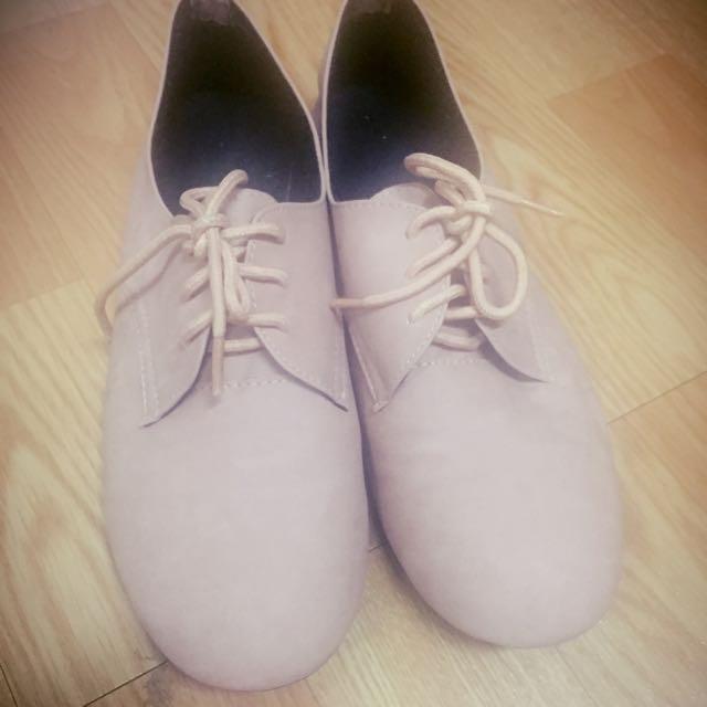 牛津鞋24.5(轉售)