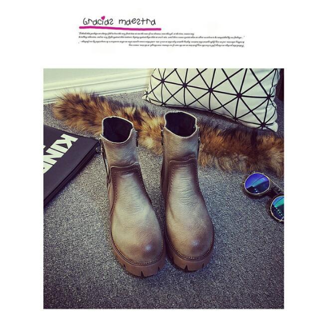 美式西部渲染短靴