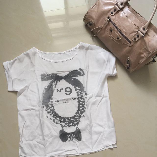 香水雪紡棉衫