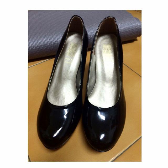 黑色高跟鞋 (含運)
