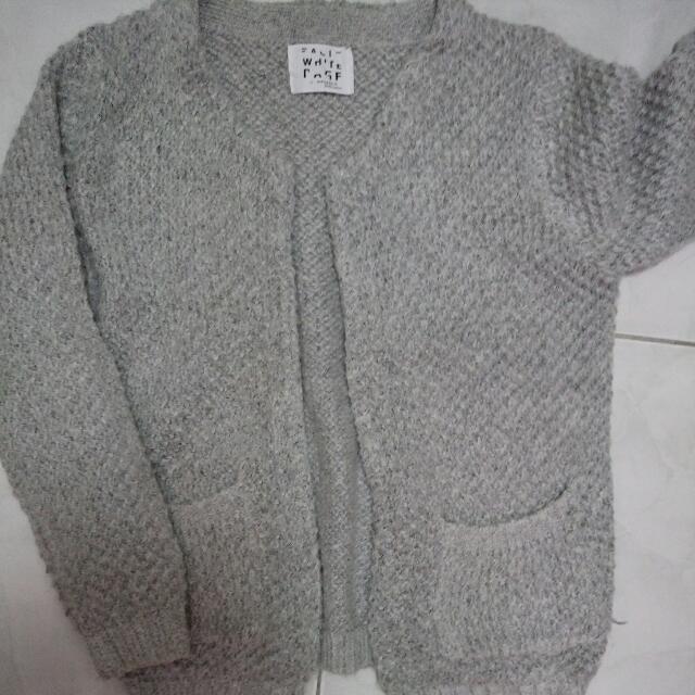 厚針織 毛衣 外套