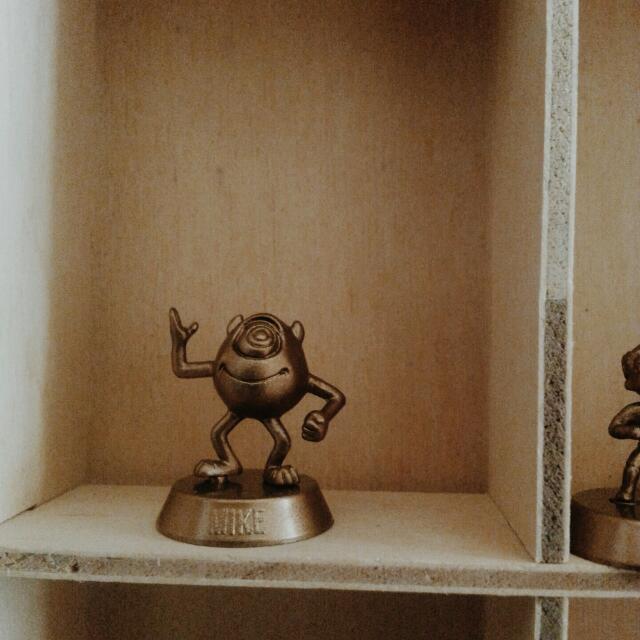 迪士尼公仔 大眼仔 麥克華斯基 超人特攻隊