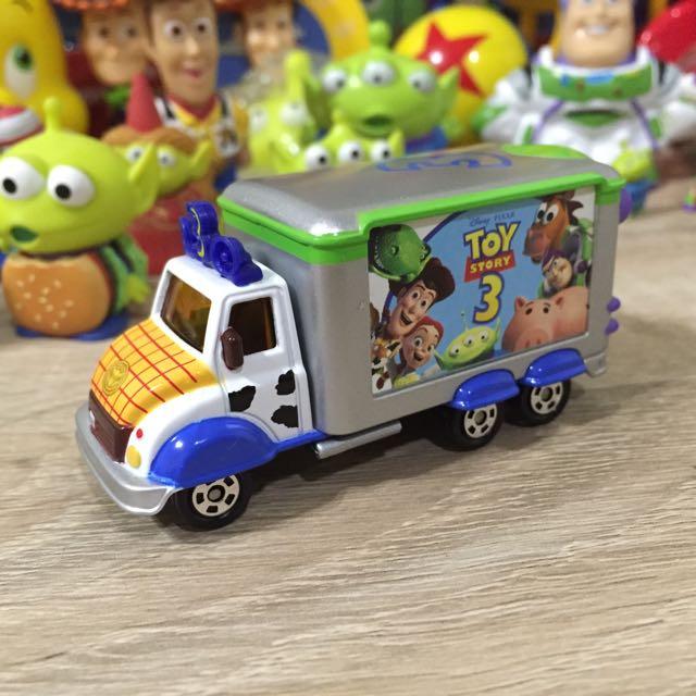 :: 玩具總動員 Toystory3 多美tomica車 ::