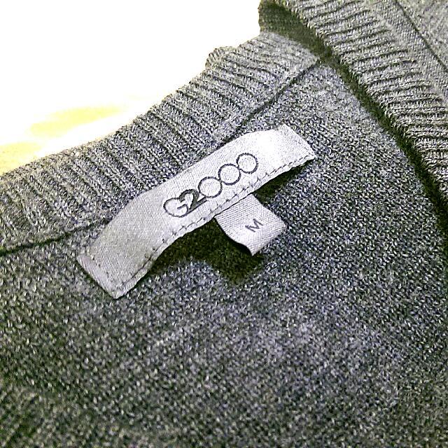 二手 G2000 羊毛針織背心 M號