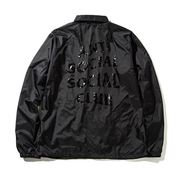 c61b274e2bc4 Antisocial Social Club (ASSC) Coach Jacket