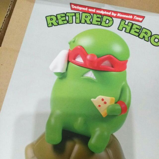 Black Seed Retred Hero 退休 忍者龜 TTF