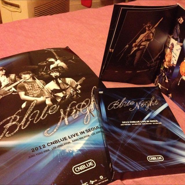CNBLUE 2012 演唱會DVD-含郵