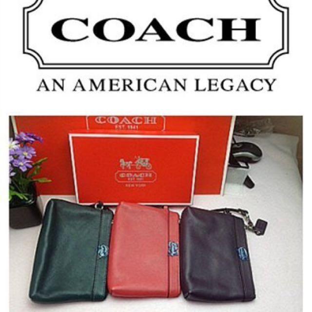 Coach(全新品)手拿包