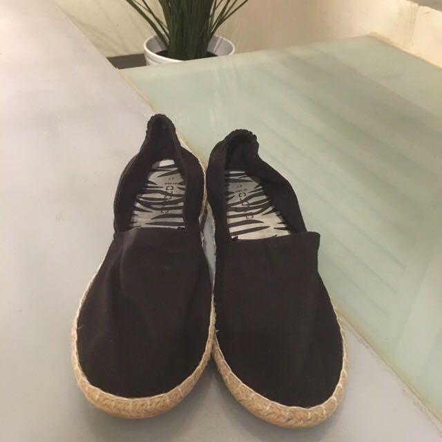 H&M草蓆懶人鞋