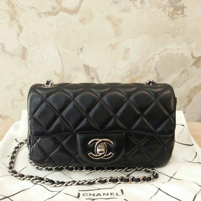 b2684b755193 Preowned Chanel Extra Mini Classic Flap, Luxury on Carousell