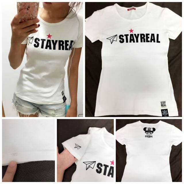 StayReal 短T