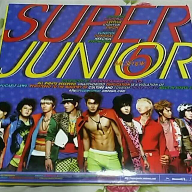 <誠可議價>Super Junior Mr.simple 正版專輯