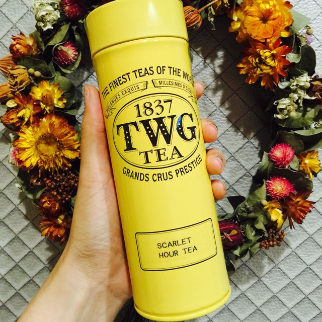 TWG 茶葉 Scarlet Hour Tea