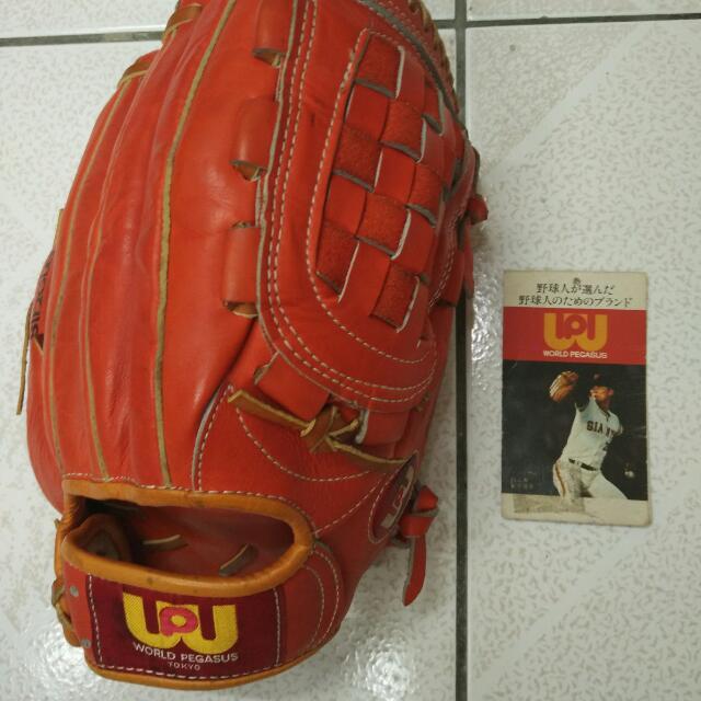 WP 日製古老手套