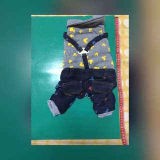 米奇吊帶褲(全新)