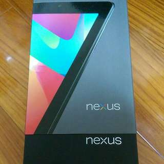 Asus Nexus 7 第一代 32G 3G版 盒裝完整 近全新 免運費(保留中)