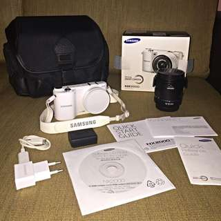 *MINT* Samsung NX2000 (white) - RESERVED
