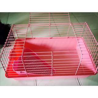 Rabbit Cage And Pee Tray
