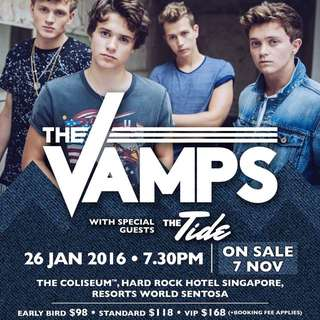 THE VAMPS SINGAPORE LIVE(VIP)