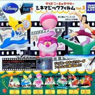 (出售待匯)迪士尼 經典底片場景 扭蛋/轉蛋