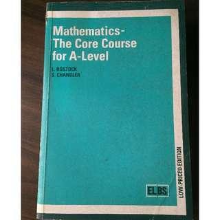 Mathematics for A'Level