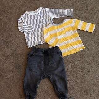 Sz 1 Cotton On Boys Clothing Lot