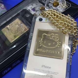 iPhone 5 / 5s 香水kitty 殼套