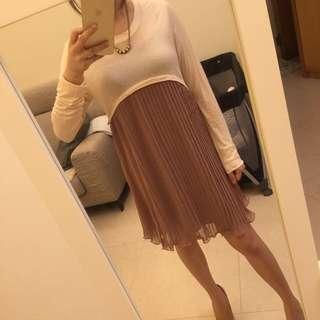 正韓雪紡洋裝