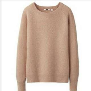 Uniqlo Mohair Blend Sweater (Women)