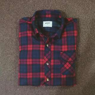 Red Flannel Shirt by PRAISE