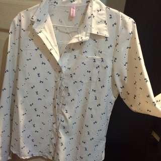 全新白襯衫(長頸鹿圖案)