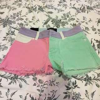 Pastel Paddle Pop Shorts