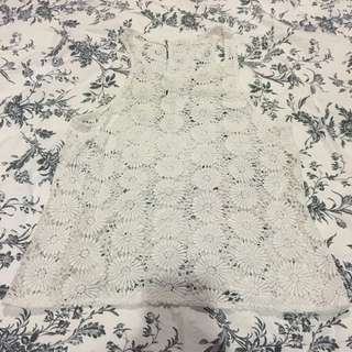 Floral Netted Tank Top