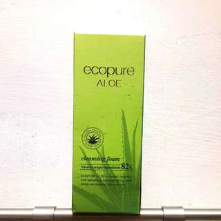 ecopure 天然蘆薈保濕潔顏乳