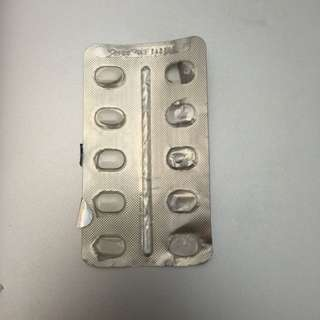 Expired Loratadine Blister Pack (Non-edible; Collectible)