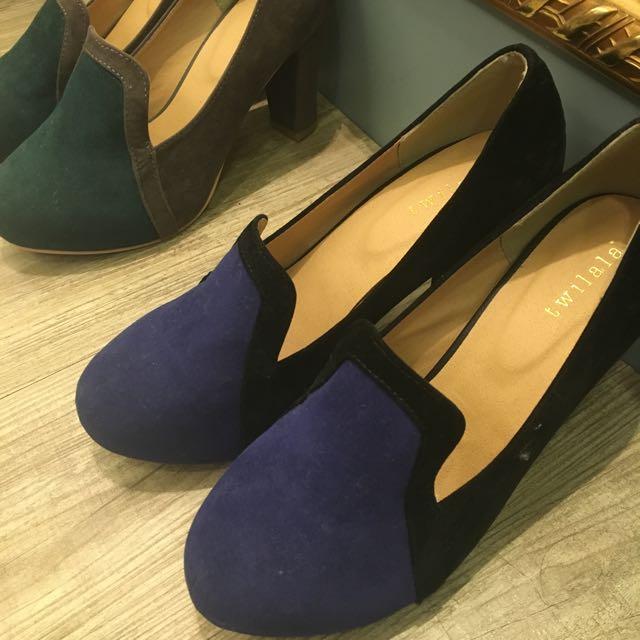 復古感高跟鞋!