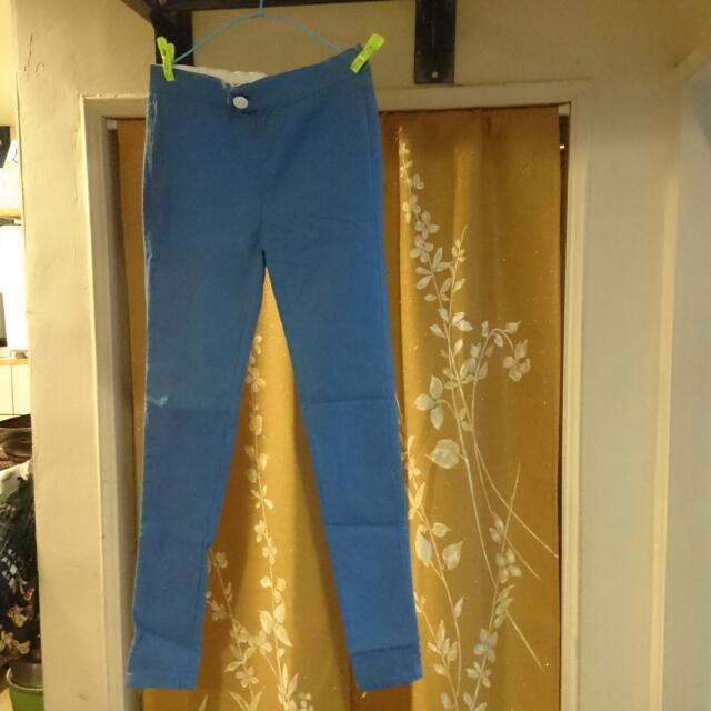 深藍內搭褲