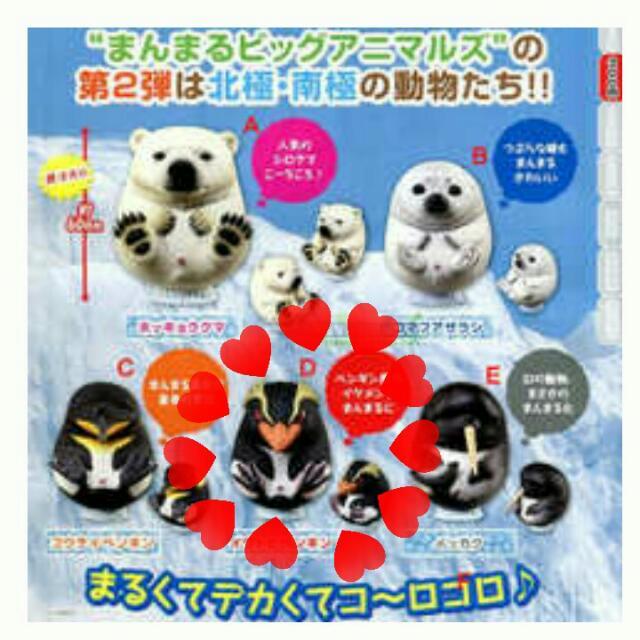 售扭蛋 ⛄圓滾滾南北極-企鵝