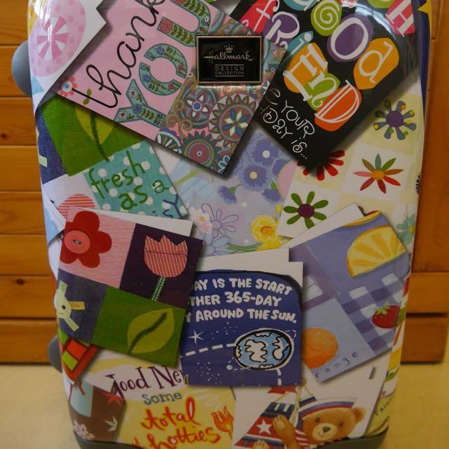 HALLMARK歡樂拼貼系列20吋鋁框行李箱