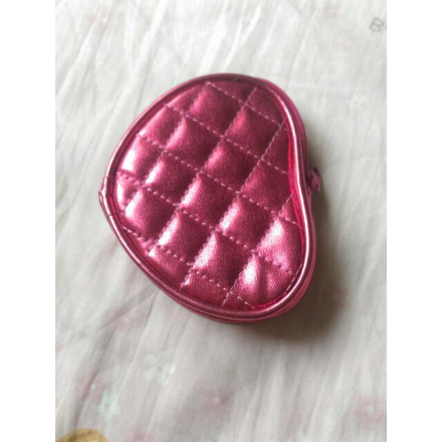 【含運】粉紅格菱紋 零錢包